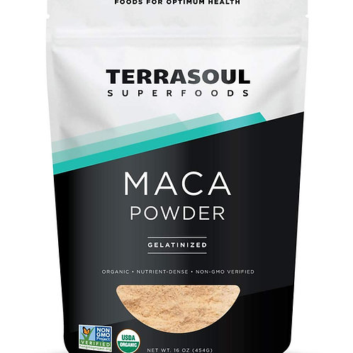Maca Powder 16oz by Terrasoul