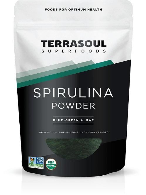 Spirulina Powder 6oz by Terrasoul