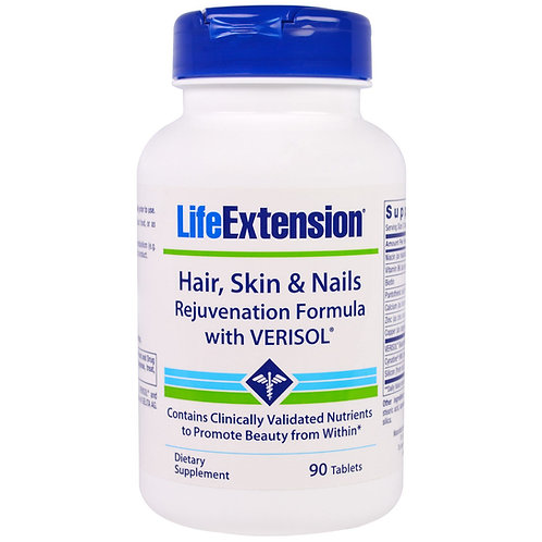 Hair Skin & Nails 90 Tab by Life Extension