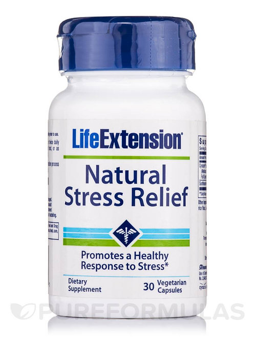 Natural Stress Relief 30 Cap by Life Extension