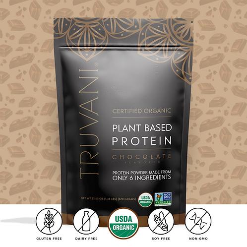 Chocolate Plant Based Protein Powder by Truvani