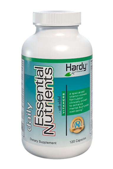 Daily Essential Nutrients with Vitamers 120 Caps by Hardy