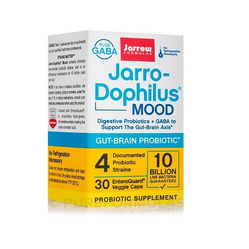 Jarro-Dophilus Mood 10 Billion 30 Caps by Jarrow Formulas