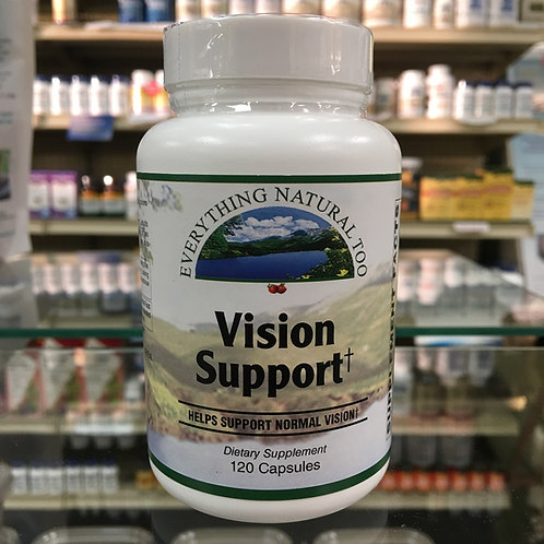Vision Support by Everything Natural 120 Cap