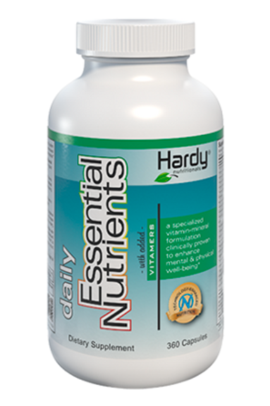 Daily Essential Nutrients with Vitamers 360 Caps by Hardy