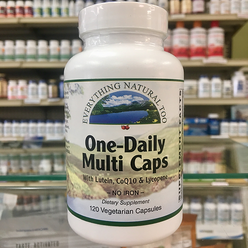 One-Daily Multi Iron Free 120 Cap by Everything Natural