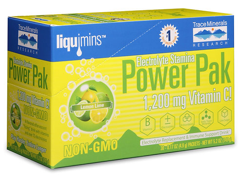 Power Pak by Trace Minerals 30 Packet
