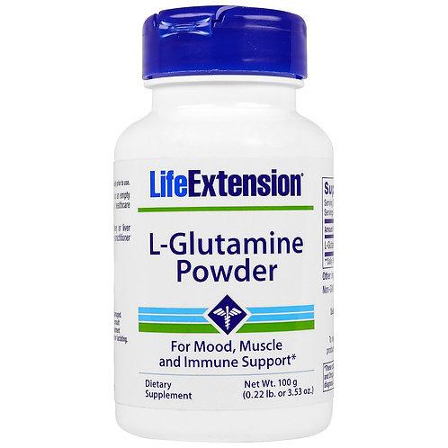 L-Glutamine Powder 100g by Life Extension