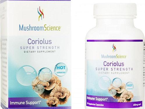 Coriolus by Mushroom Science 90 Cap