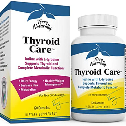 Thyroid Care 120 Cap by Terry Naturally