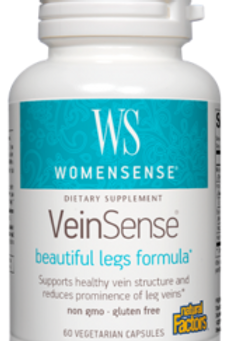 Natural Factors Women's Vein Sense 60 Cap