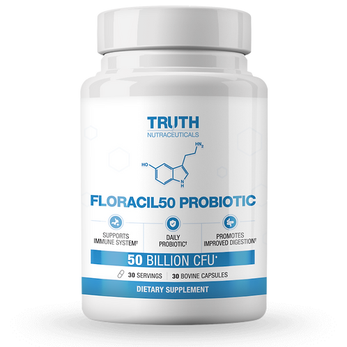 Floracil50 Probiotic by Truth Nutraceuticals 30 Cap