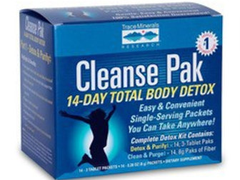 Cleanse Pak by Trace Minerals