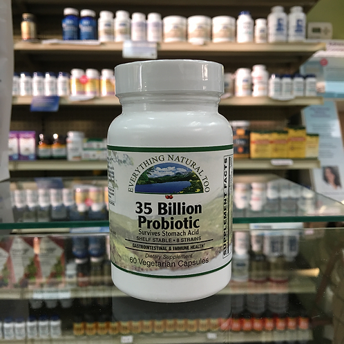 35 Billion Probiotic by Everything Natural 60 Cap