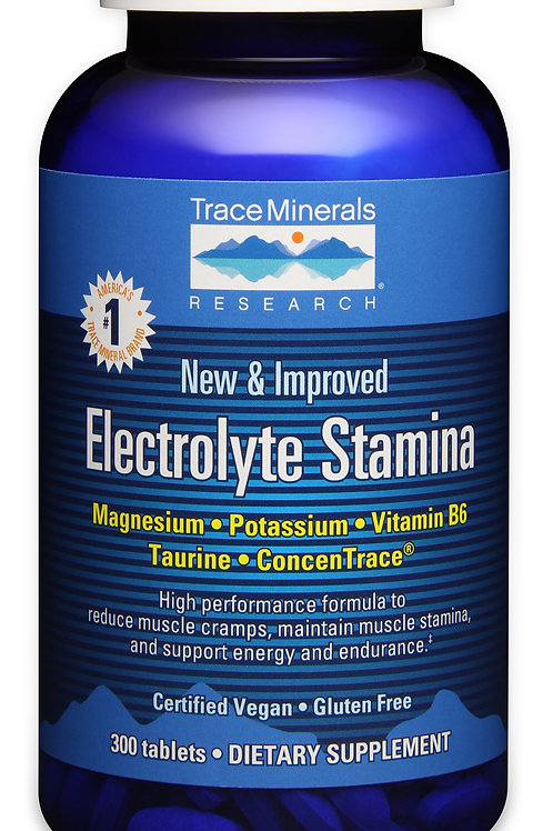 Electrolyte Stamina by Trace Minerals 300 Tab