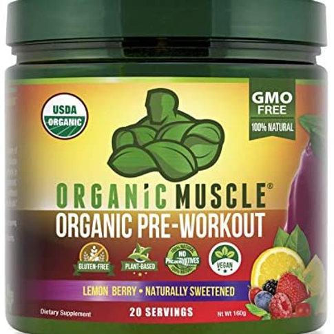 Organic Pre-Workout Lemon Berry by Organic Muscle