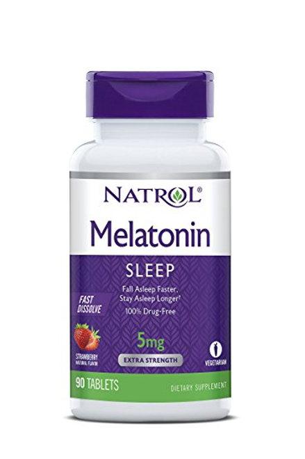 Melatonin 5mg Timed Release 100 Tab by Natrol