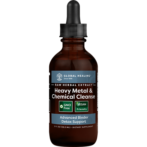 Heavy Metal Detox 2 fl oz by Global Healing
