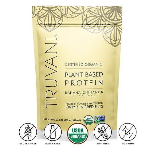 Banana Cinnamon Plant Based Protein Powder by Truvani