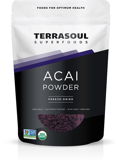 Acai Powder 4oz by Terrasoul