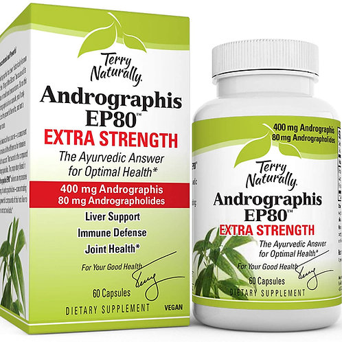Andrographis Extra Strength 60 Cap by Terry Naturally