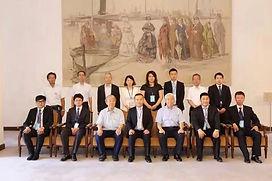 大連勉強団の兵庫県庁訪問