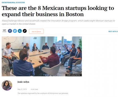 Entrepreneur Magazine Mexico