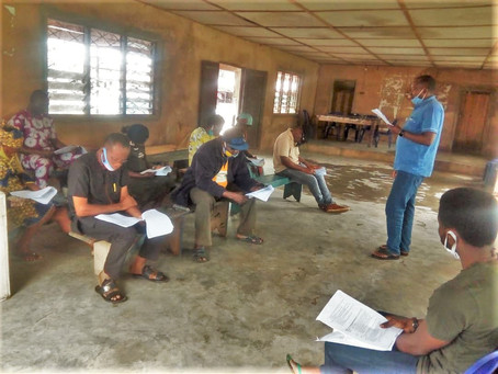 ACAI Rolls out Pretest for the Farmers' Field Guide in Nigeria and Tanzania