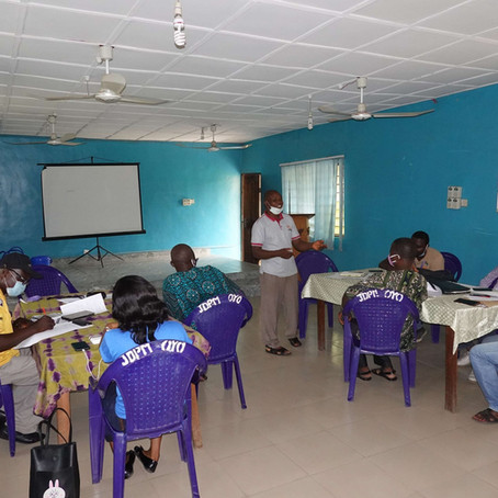 JPDM and UAM Gradually Resume Training of Farmers while Adhering to COVID-19 Safety Measures