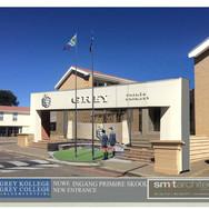 Grey Primary entrance