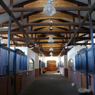 Interior of stables
