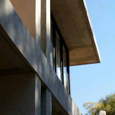 Detail concrete work