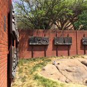 Bronze panels