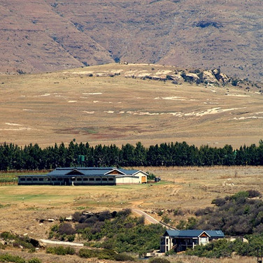 Farm setting in Clarens
