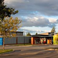 Entrance to school