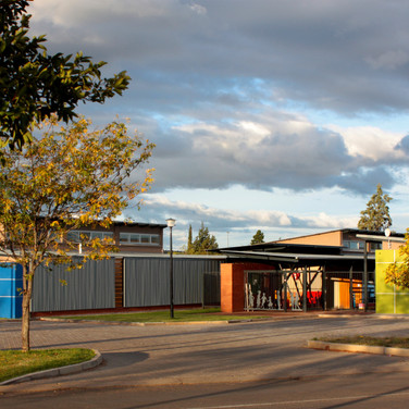 Entrance to school
