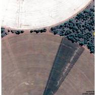 Irrigation systems on farm