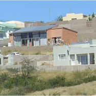 View from cul de sac