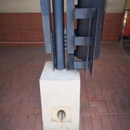 Column detail with bin