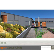 Final option: Pumpstation & offices