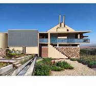 Option 1: Pumpstation & offices