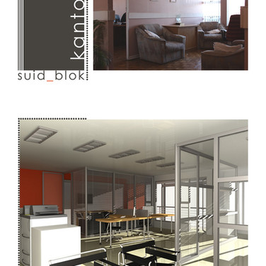 Offices before and after