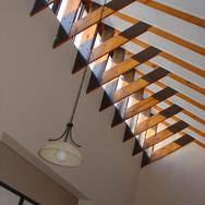 House Swart living room roof