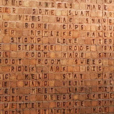 Willem Boshoff wall