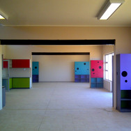 Cupboards in classrooms