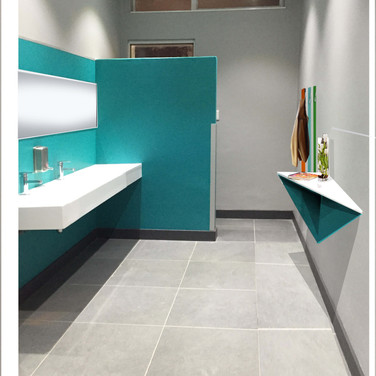 Eunice staff bathroom