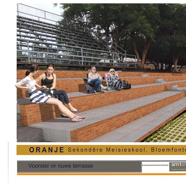 Oranje Meisieskool Sport stand