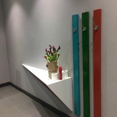 Staff Bathroom inteiror