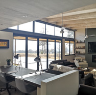 Lounge with work stations