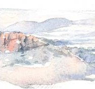 Watercolour view